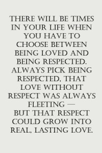 Respect Love Loyalty Commitment Sharing Is Caring