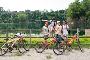 cycling at pulau Ubin - 20 May 2012