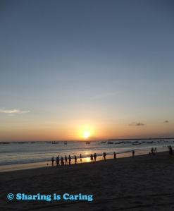 sunset at beach - 20 Jul 2012